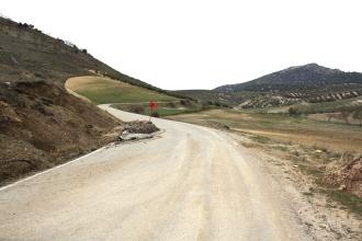 Camino de El Sotillo que une Montejícar con Campotéjar.