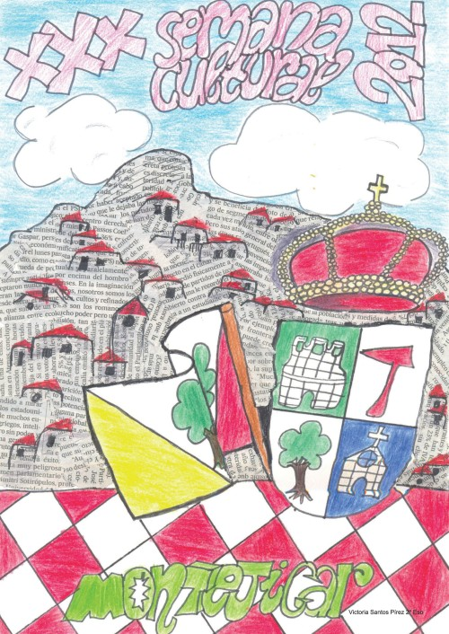 Dibujo ganador del año pasado, realizado por Victoria Santos Pírez.