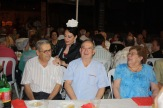 Cena de homenaje a los mayores con actuación de copla.