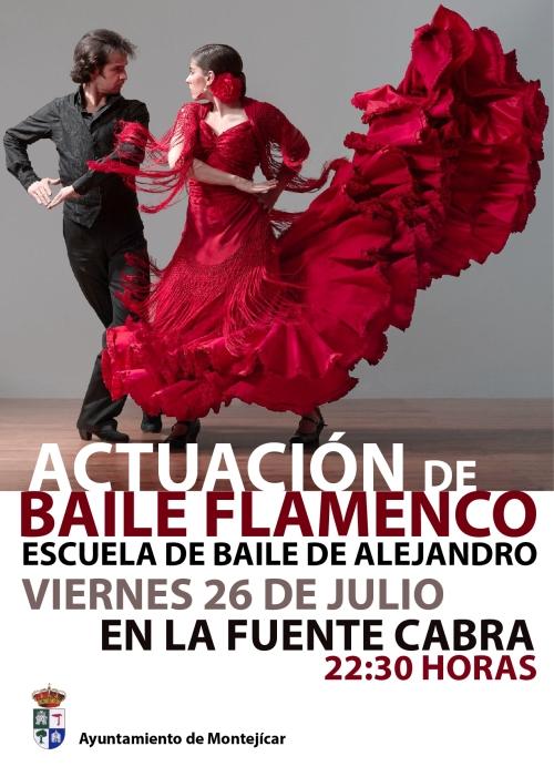 La Escuela de Baile de Alejandro actúa este viernes en la Fuente Cabra