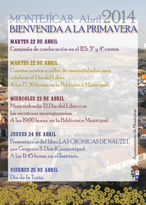 BIENVENIDA A LA PRIMAVERA 3-01