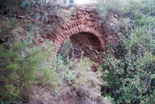 Puente medieval del Barranco del Muerto