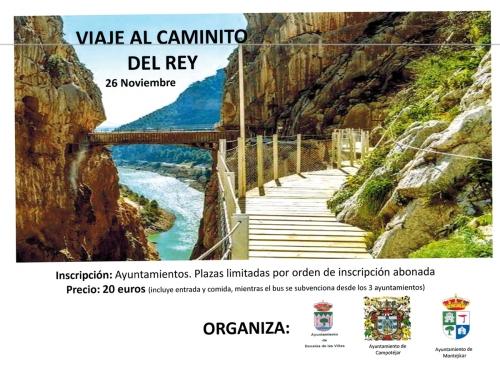 CARTEL CAMINITO DEL REY